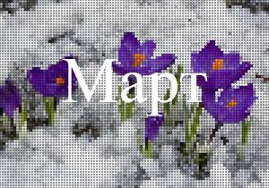 Лунный календарь март
