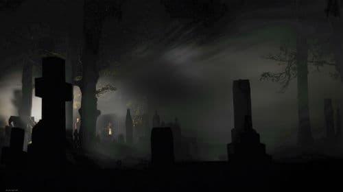 ходить по кладбищу и могилам ночью
