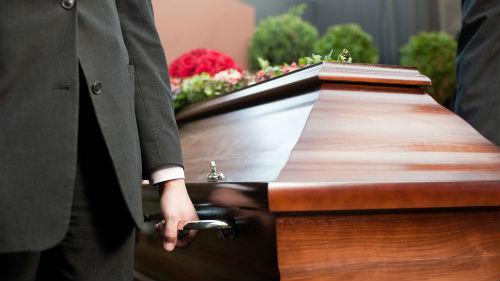 гроб с телом