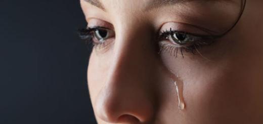 плакать во сне