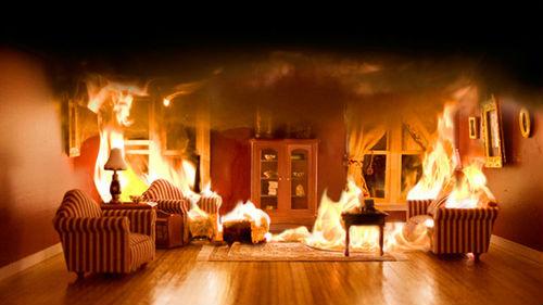 пожар и огонь в квартире во сне