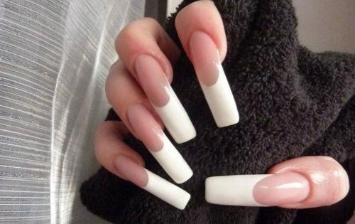длинные ногти
