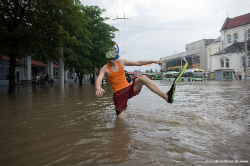 потоп на улице во сне