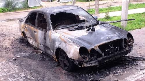 к чему снится что сгорела машина