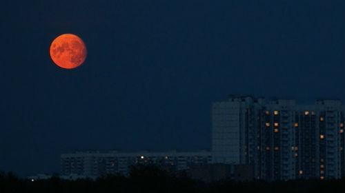 к чему снится большая луна