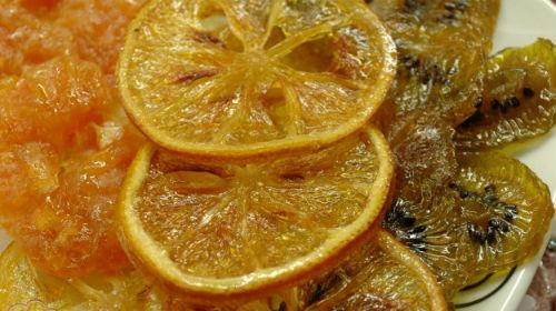 лимонные цукаты