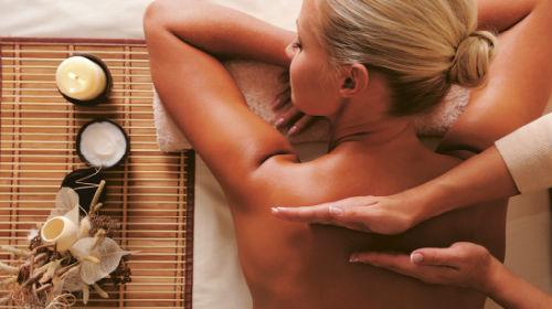 массаж спины во сне