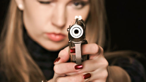 стрелять во сне