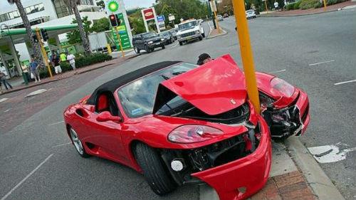 попасть в аварию на машине во сне