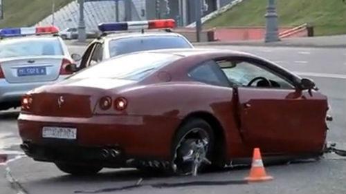 приснилось попасть в аварию на машине