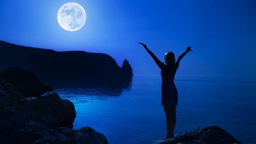 лунная фаза полнолуние