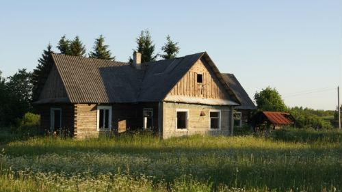 пустой старый дом во сне
