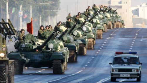 танки военные
