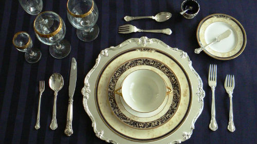 красивая посуда тарелки