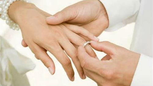мерить золотое кольцо