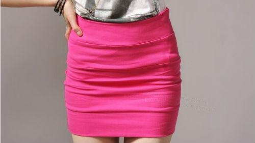 мерить юбку