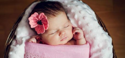 младенец девочка во сне