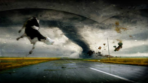 к чему снится торнадо