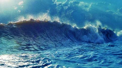 морская волна шторм