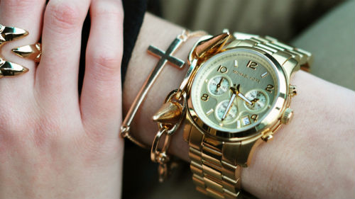 наручные часы подарили