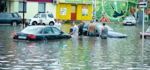 наводнение в городе во сне