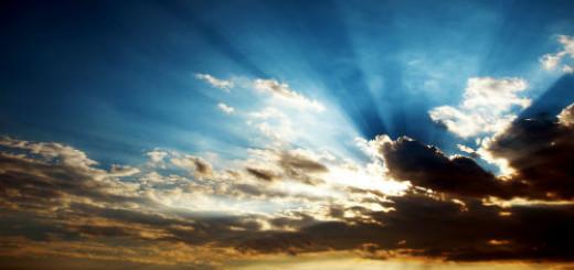 тучи на небе во сне