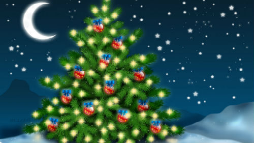 новогодняя елка во сне