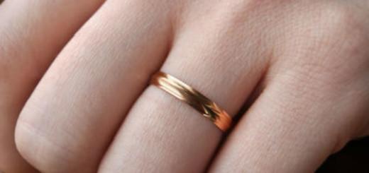 обручальное кольцо на пальце мужчины во сне