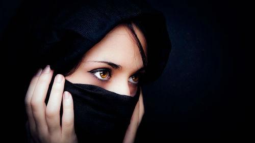 мусульманка в парандже