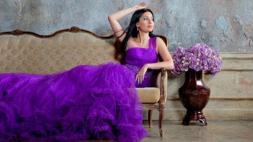фиолетовое платье во сне
