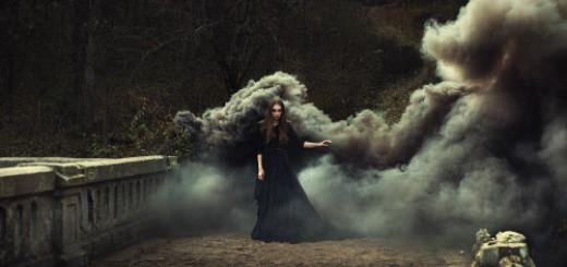 черный дым во сне
