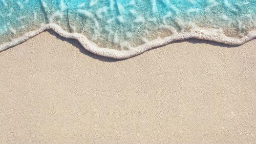 морская вода на песке