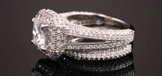 белое кольцо с бриллиантом во сне