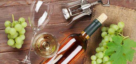 белое вино в бутылке во сне