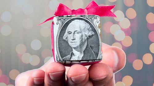денежный подарок