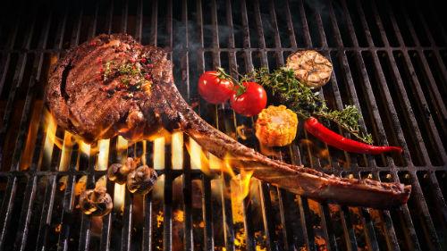 видеть мясо на мангале
