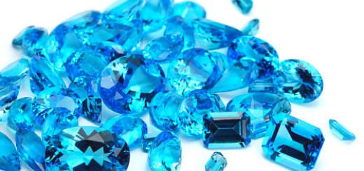 голубые камни во сне