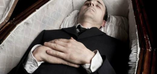 гроб с покойником без крышки во сне