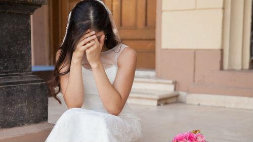 грустная без жениха