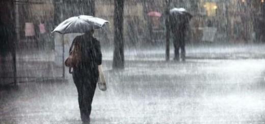идти под дождем во сне