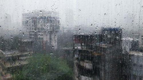 дождь за окном во сне