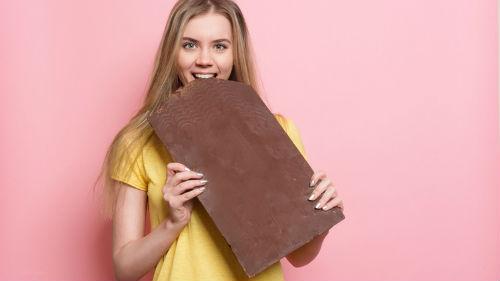 большая конфета