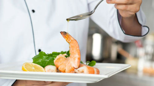 видеть блюдо морепродуктов