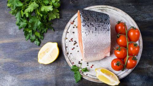видеть соленый лосось
