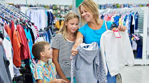 видеть магазин детской одежды