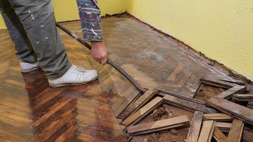 к чему снится деревянный пол