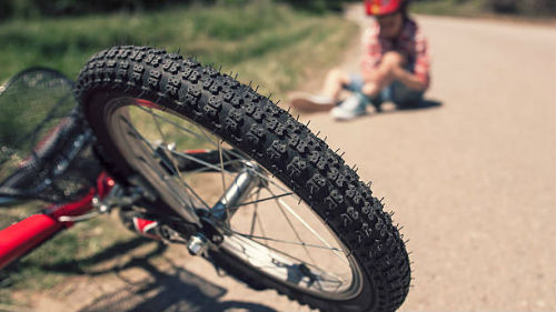 видеть детский велосипед