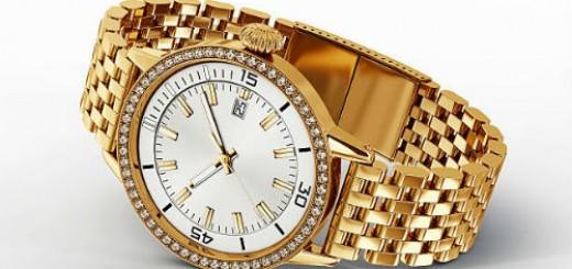 золотые наручные часы во сне