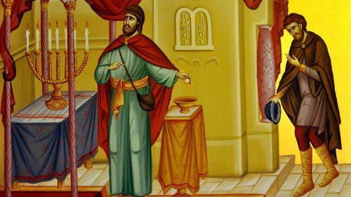 неделя мытаря и фарисея