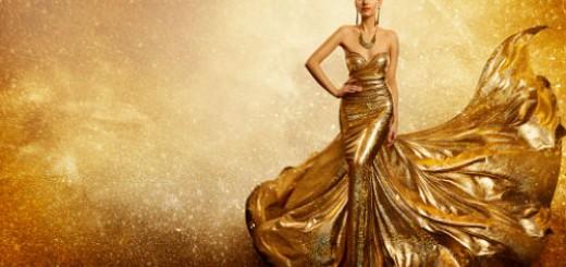 золотое платье во сне